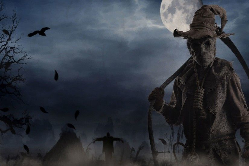 ... scarecrow HD Wallpaper 2560x1440 Creepy ...