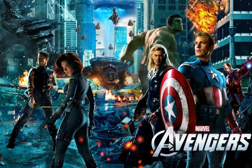 The Avengers - Wallpaper by capthesupersoldier on DeviantArt