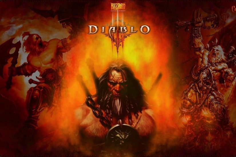 Video Game - Diablo III Barbarian (Diablo III) Wallpaper