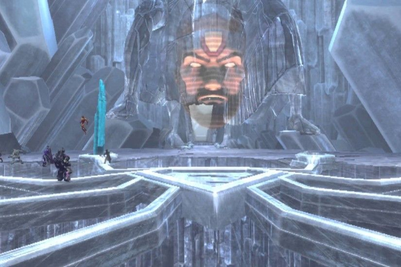 DCUO Gods - Fortress of Solitude: Power Core - Cleansing the Fortress Speed  Feat - YouTube