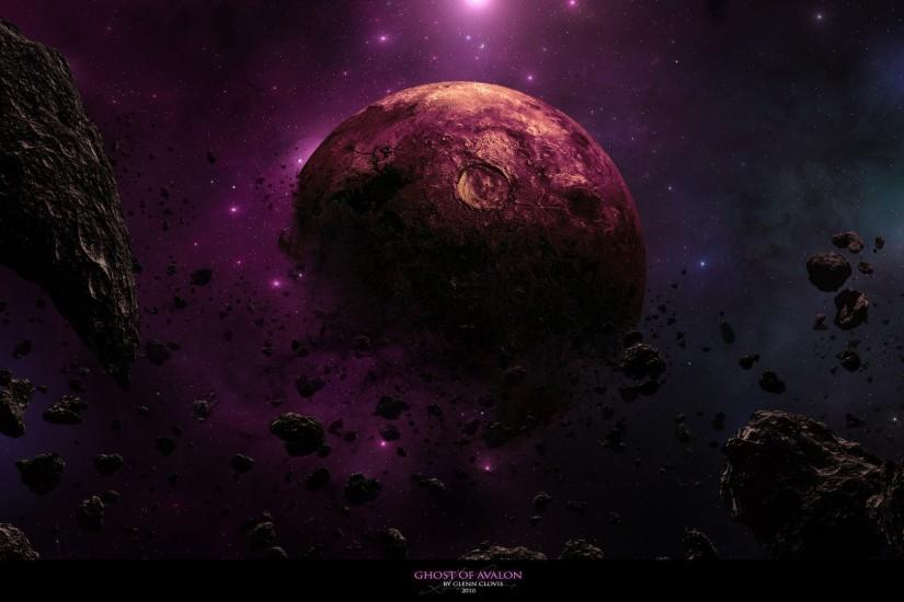 outer space galaxies planets rocks nebulae DeviantART dust asteroids cosmic  dust wallpaper