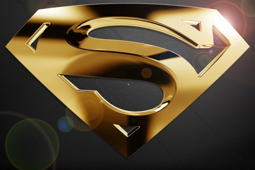 Free Superman HD Wallpapers. blue batman logo wallpaper superman 3d.