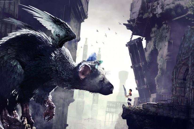 http://www.desktophdwallpapers.in/wp-content/uploads/2016/09/The-Last- Guardian-Game-wide.jpg | cartoons movies + | Pinterest ...