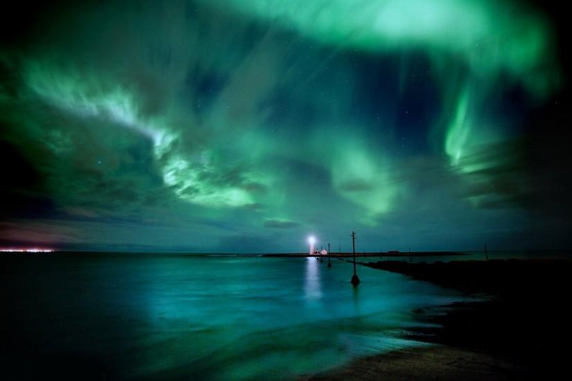 widescreen northern lights wallpaper 1920x1200 for ipad 2