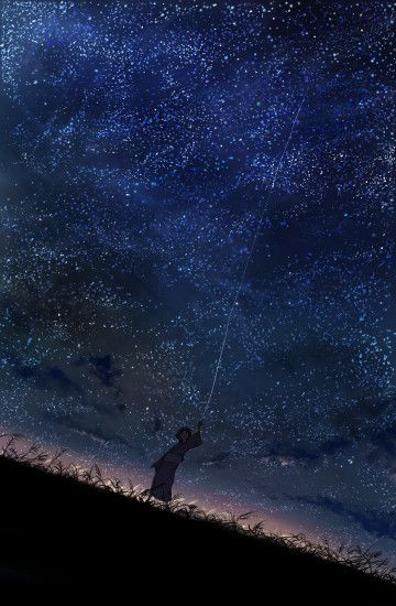 Stars Mushishi Night Sky Fresh New Hd Wallpaper [Your Popular HD Wallpaper]  #ID53049