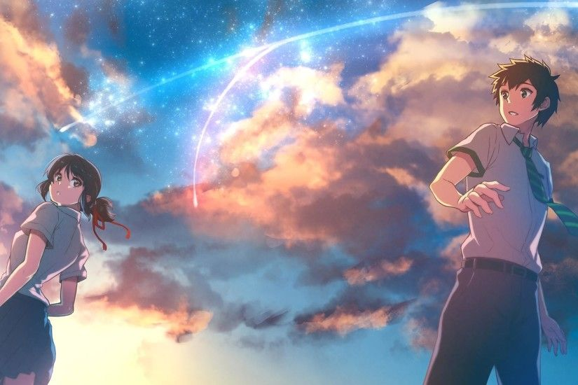 Kimi no Na Wa [1920x1080] Need #iPhone #6S #Plus #Wallpaper/ #Background  for #IPhone6SPlus? Follow iPhone 6S Plus 3Wallpapers/ #Backgrounds Must to…