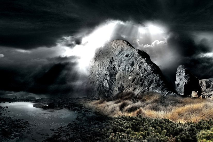 Dark Nature Wallpapers High Definition with HD Wallpaper Resolution  1920x1080 px 515.37 KB Nature Night Widescreen