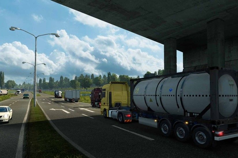 PC Gamer's Simulation Game of the Year 2012, Euro Truck Simulator 2, just  got better with the addition of this first add-on, Go East. Featuring.