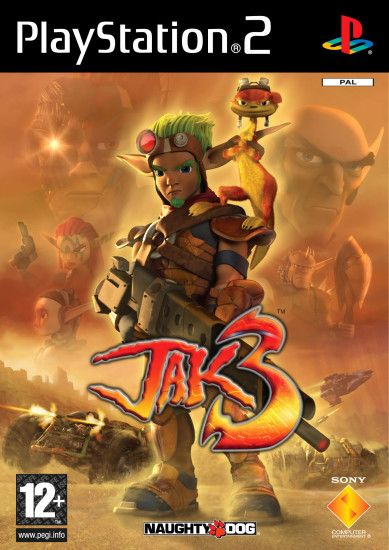 Image - Jak 3 front cover (EU).png | Jak and Daxter Wiki | FANDOM powered  by Wikia