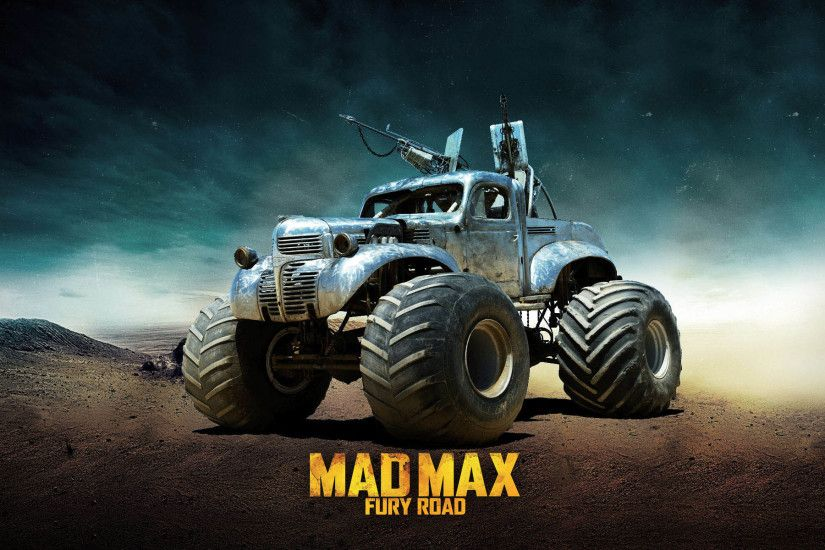 The Big Foot based on 1940 Fargo Pickup - Mad Max Fury Road 1920x1200  wallpaper