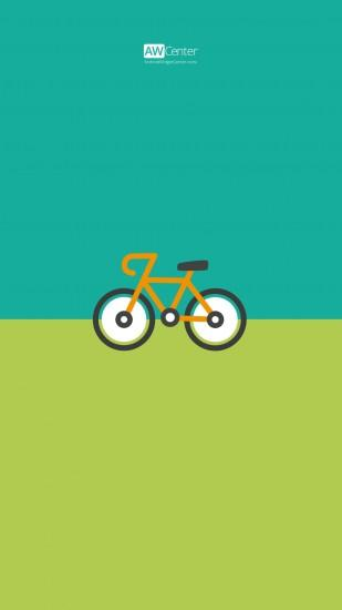 01-Android-Wallpaper-Bicycle-Preview