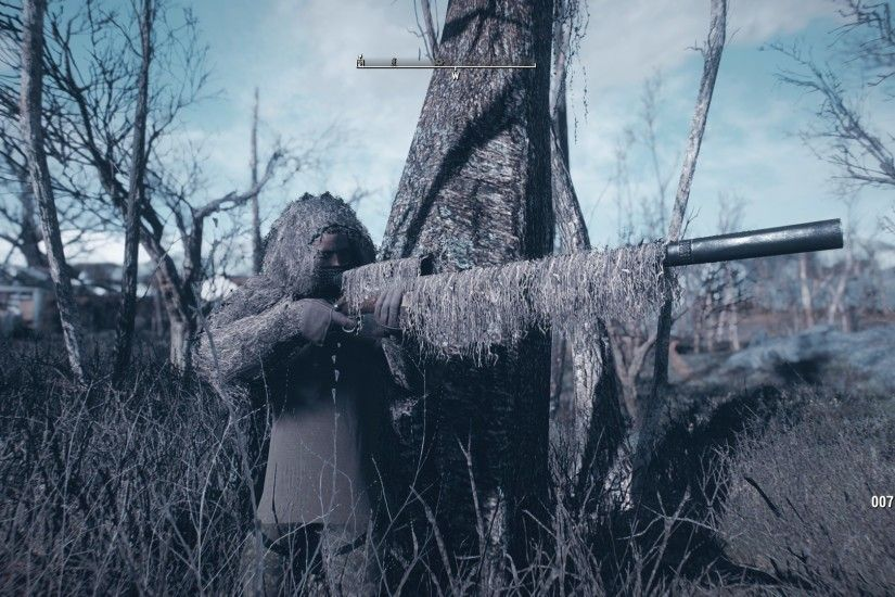 Ghillie Mod - Suit and Weapon Wraps (WIP) at Fallout 4 Nexus - Mods and  community
