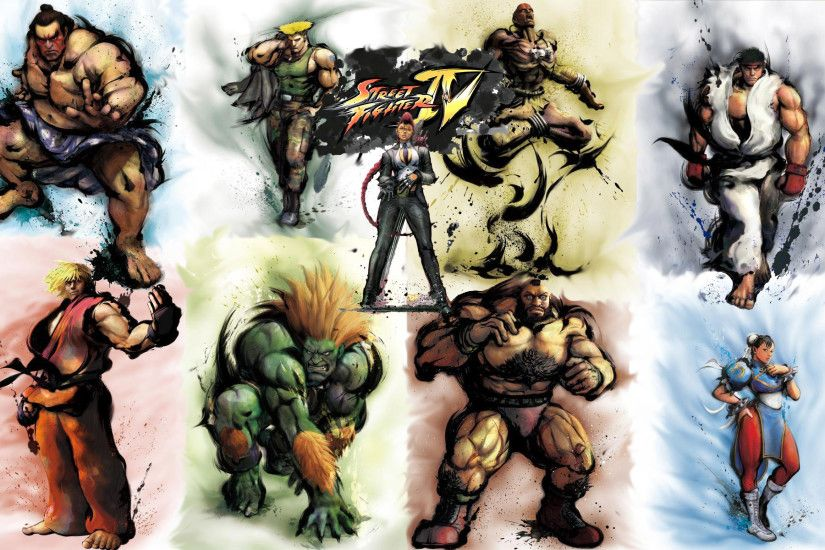 Street Fighter 4 HD Wallpaper 1920x1080 Street Fighter 4 HD Wallpaper  1920x1200