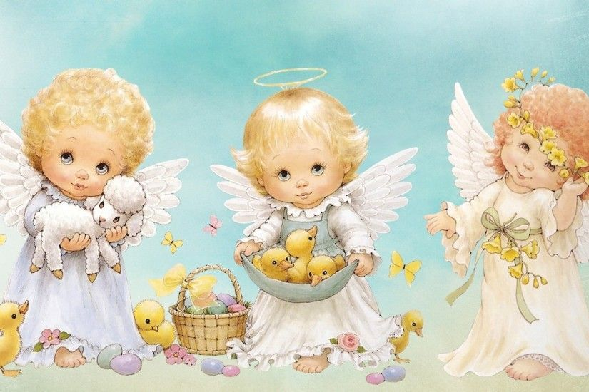 1920x1080 Cute Angel Desktop Wallpapers This Wallpaper