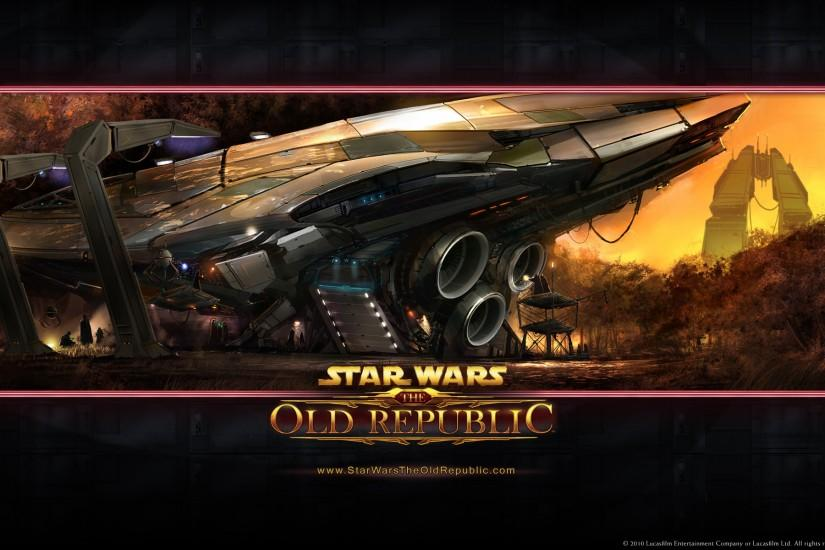 Wallpaper from Star Wars: The Old Republic