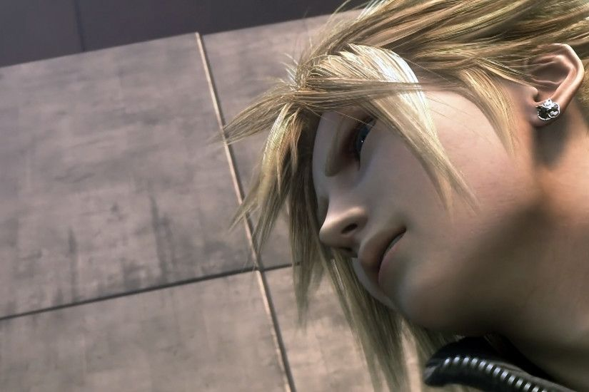 Tags: Anime, Final Fantasy VII, Cloud Strife, Screenshot, Wallpaper, HD
