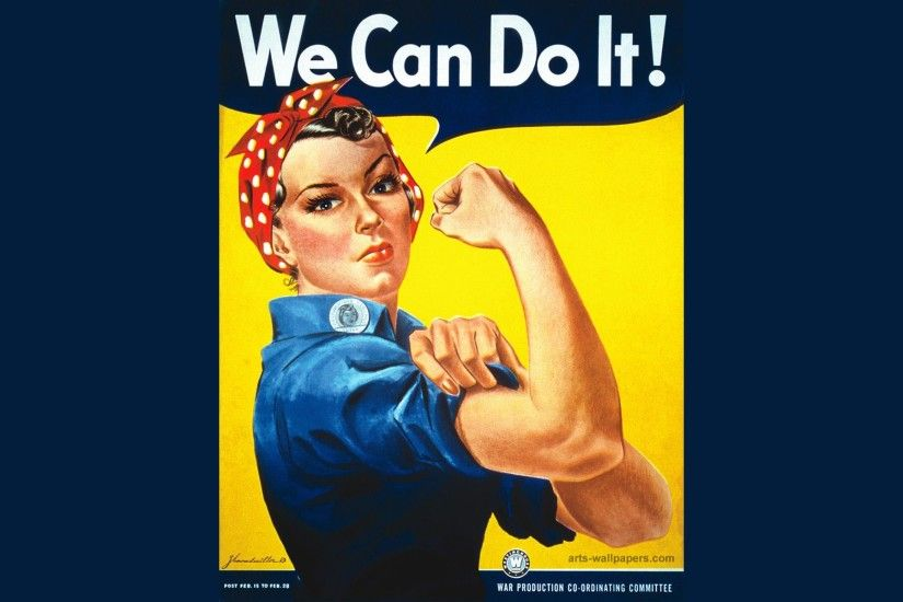 Wallpapers Snoop Dogg We Can Do It Rosie The Riveter Poster Hd ..