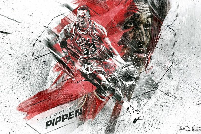Scottie Pippen Bulls 2015 1920x1200 Wallpaper