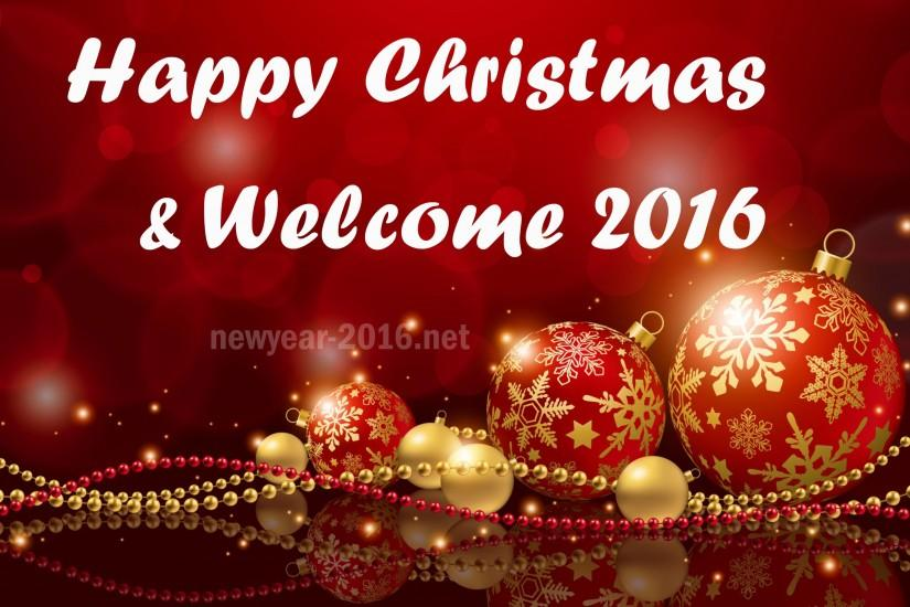 Christmas New Year 2016 HD Wallpaper download 3d Images | Happy .
