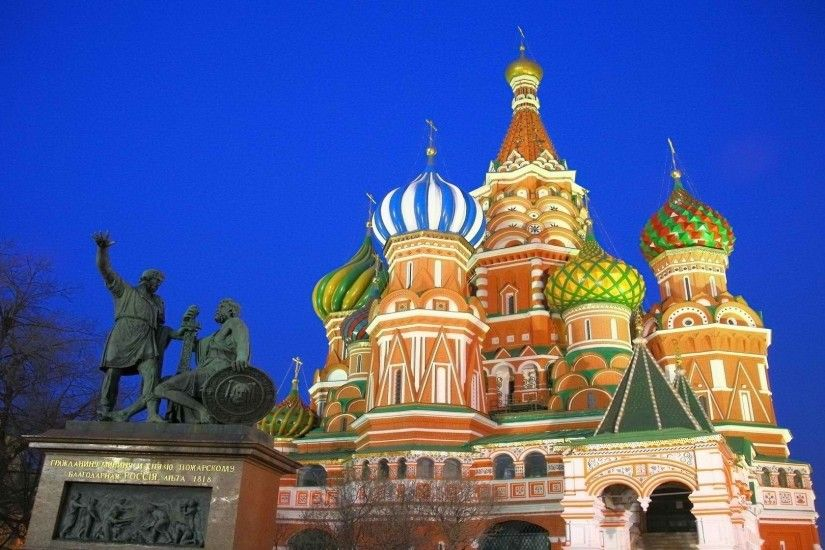 Preview wallpaper moscow, russia, kremlin, red square 1920x1080