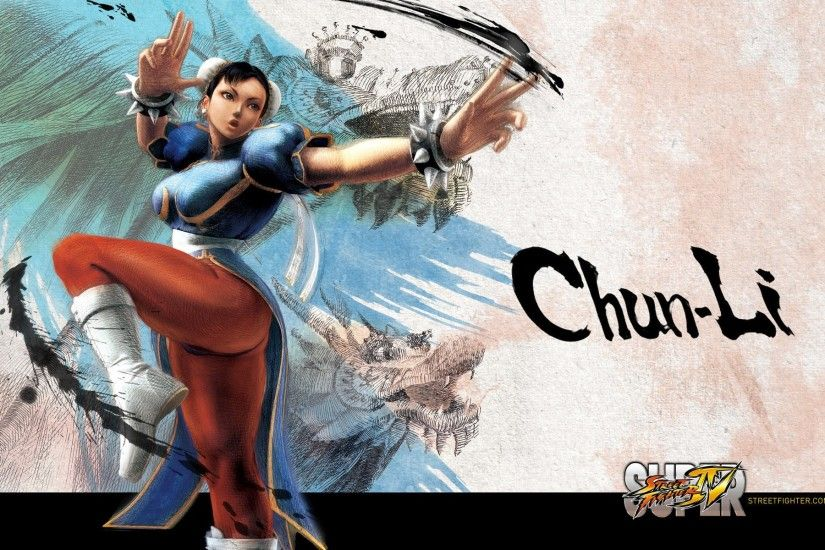 Super Street Fighter IV Character Wallpaper