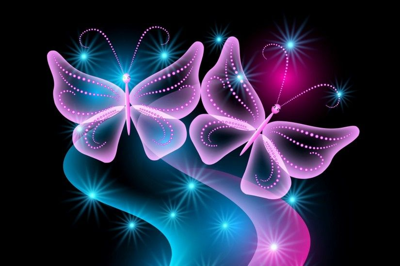 HD Abstract Neon Wallpapers | Butterfly Neon Wallpapers HD Desktop  BackgroundsNeon Lights Wallpaper .