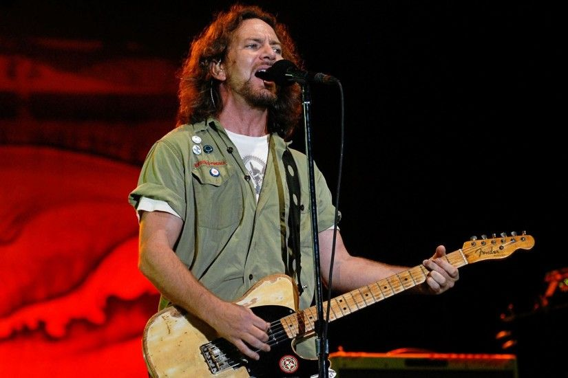 HD Widescreen Wallpaper - eddie vedder