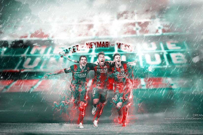 Suarez Neymar Messi by dreamgraphicss Suarez Neymar Messi by dreamgraphicss