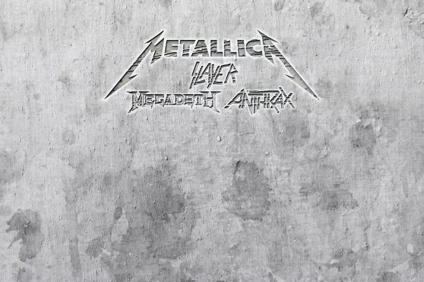 METALLICA thrash heavy metal slayer anthrax megadeth wallpaper