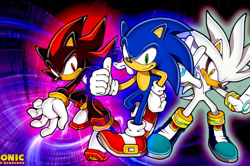 ... SonicTheHedgehogBG Sonic,Shadow And Silver Wallpaper by  SonicTheHedgehogBG