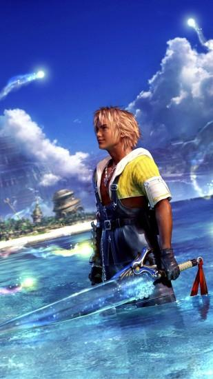 ... Tidus - Final Fantasy XV Game mobile wallpaper