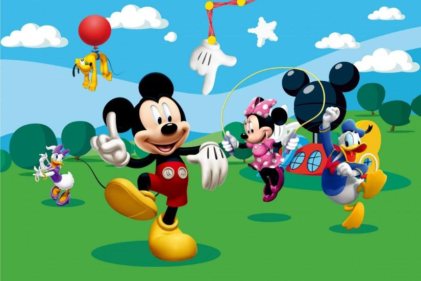 Mickey Mouse Clubhouse Background