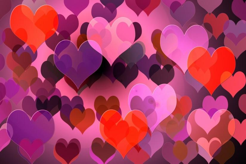 beautiful heart background 1920x1280