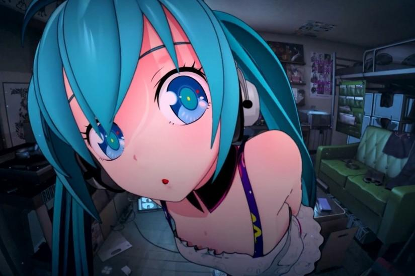 large hatsune miku wallpaper 1920x1080