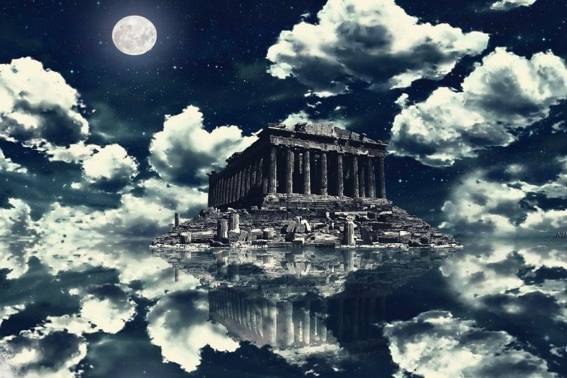 1920x1080 Monuments - Greece Parthenon Blue Ruins Akropolis Athens Sky  Summer Hellas Acropolis Fullscreen Wallpaper for