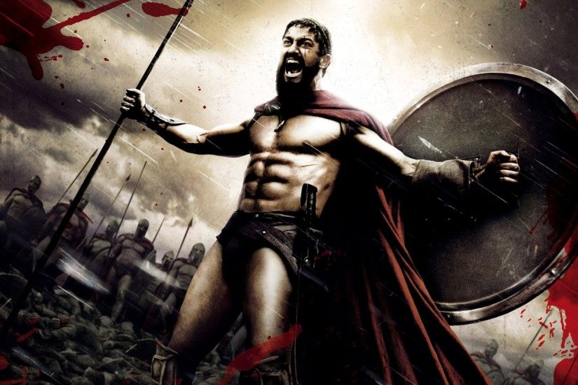 1920x1200 Wallpaper 300, spartan, warrior, rage, strong, gerard butler, king