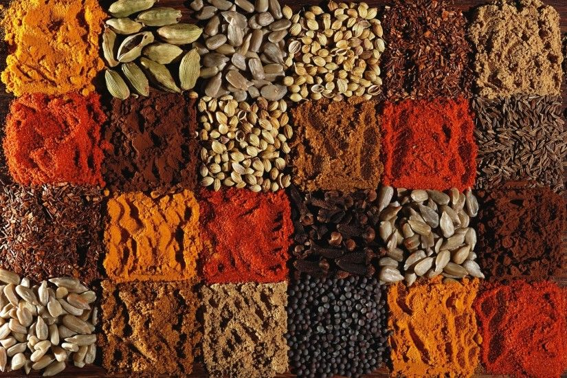 Herbs & Spices Pattern wallpapers and stock photos