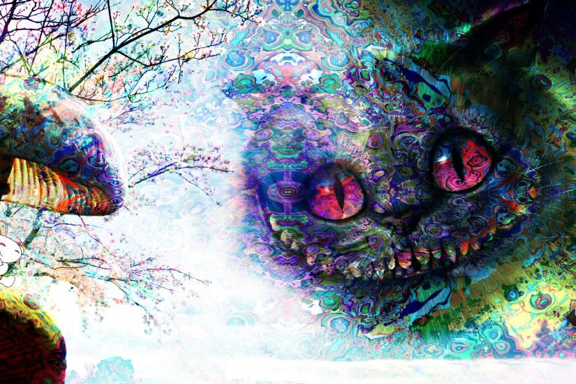 ... Images of Trippy Cat Wallpaper Cool - #SC ...