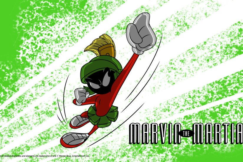 MARVIN THE MARTIAN: A SPACEY WALLPAPER. DOWNLOAD. LEARN MORE