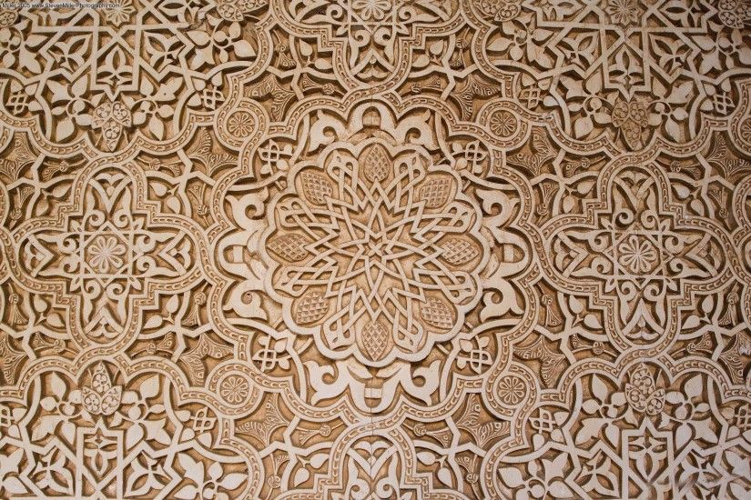 perfect with wallpaper moroccan