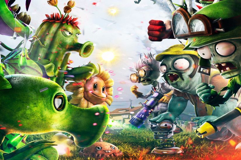 Awesome Simple Plants Vs Zombies Wallpaper Green Motive Ideas Personalized  Collection White Machine