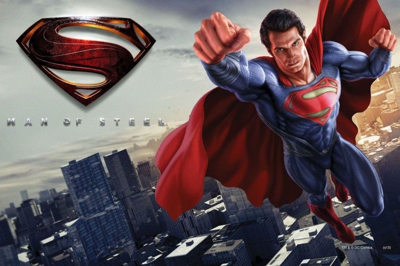 Man Of Steel Superman Movie Hero hd wallpaper #