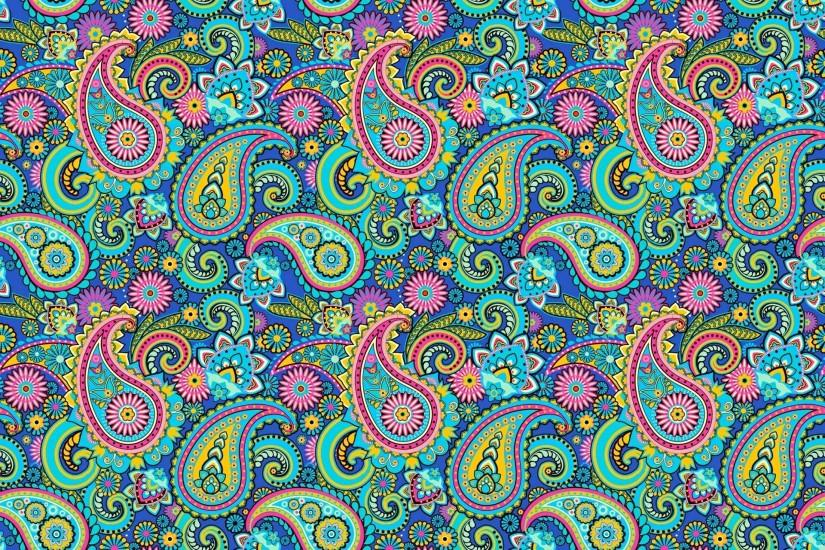paisley pattern indian cucumber