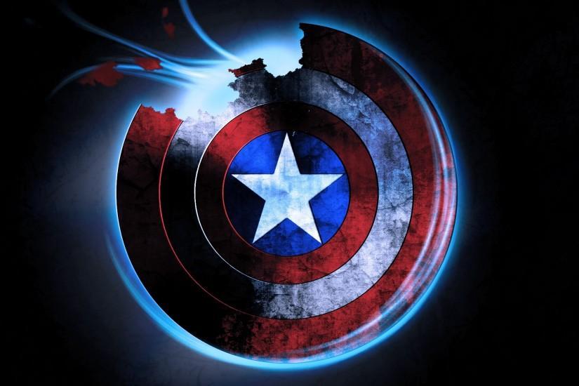 Captain America Shield Wallpaper ① Download Free Full Hd