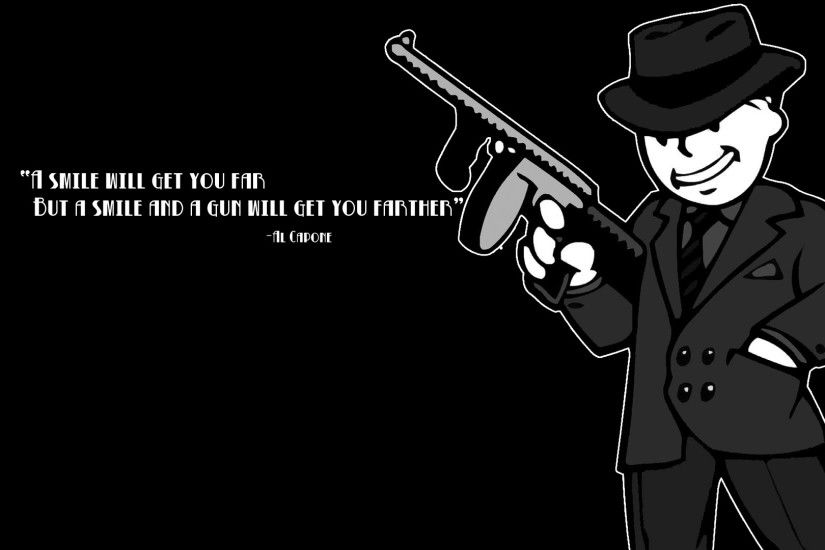 Fallout Quotes Wallpaper 1920x1080 Fallout, Quotes, Al, Capone