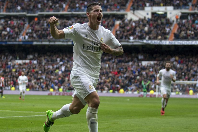 James Rodriguez hits long-range stunner in Real Madrid win