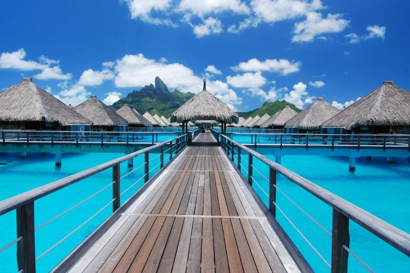 Bora Bora Widescreen Wallpaper