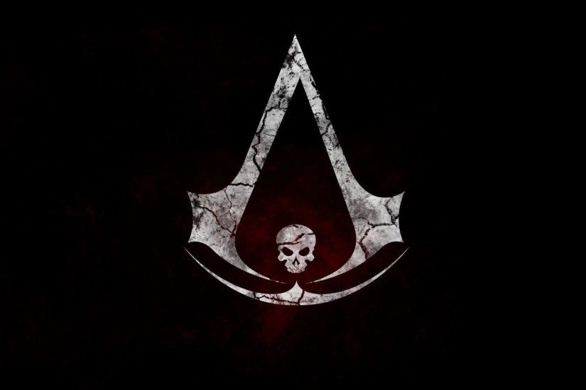 Wallpapers For Gt Assassins Creed Black Flag Logo Wallpaper .
