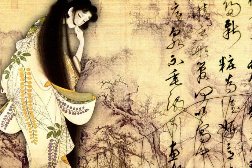Japanese Art Wallpaper - WallpaperSafari