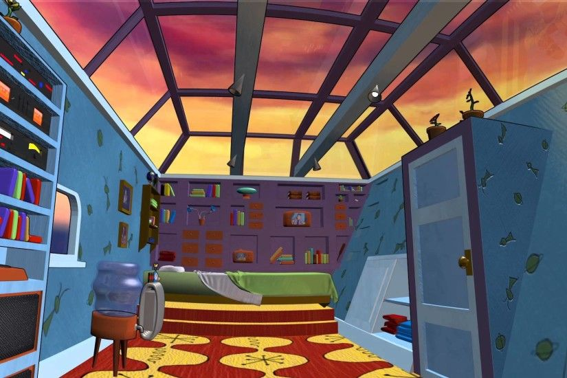 Hey Arnold - 3D Bedroom Journey - YouTube